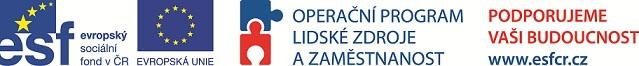 loga podporovatelů projektu